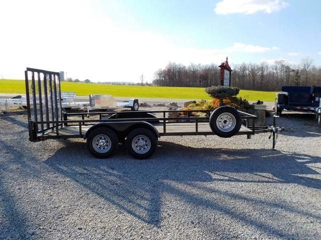 2015 Quality Steel and Aluminum 8216 AN TA Utility Trailer