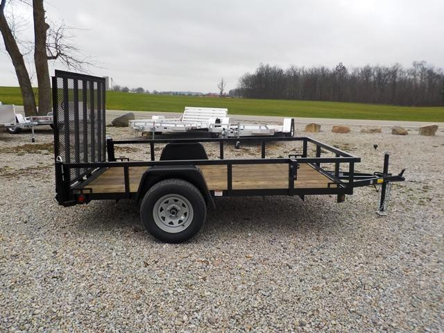 2017 Quality Steel and Aluminum 8210 AN Utility Trailer