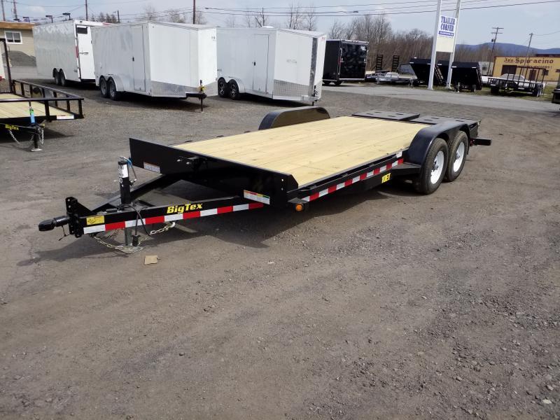 2017 big tex trailers 10et 18 mega ramps equipment trailer flatbed Big Tex Utility Trailers