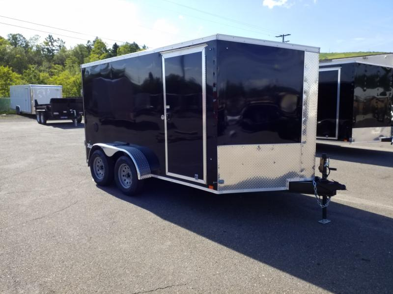 2020 Cargo Express XLW 7X12 SCREWLESS Enclosed Cargo Trailer