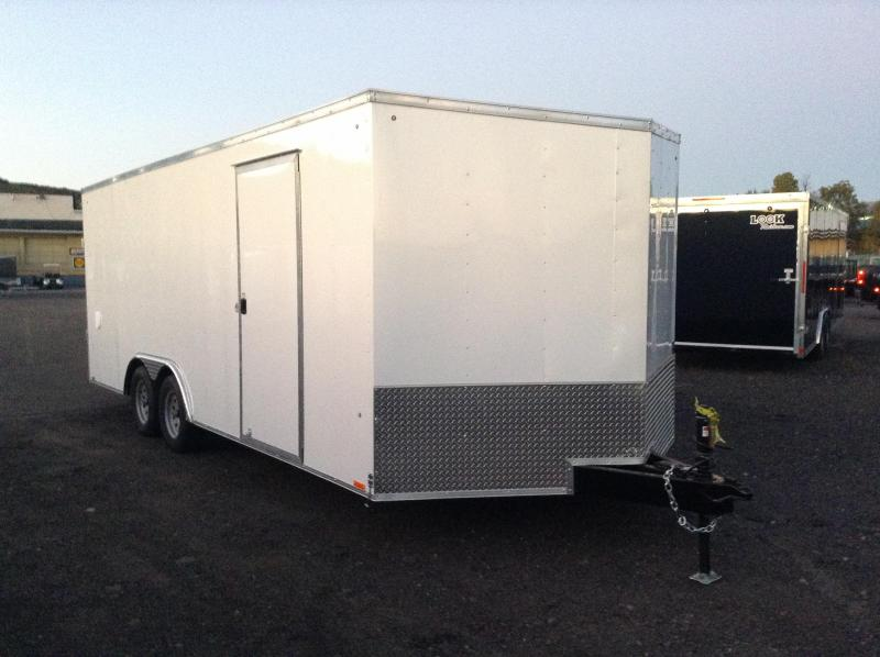 2017 Pace American OB 8.5X20 7K GVWR Car / Racing Trailer