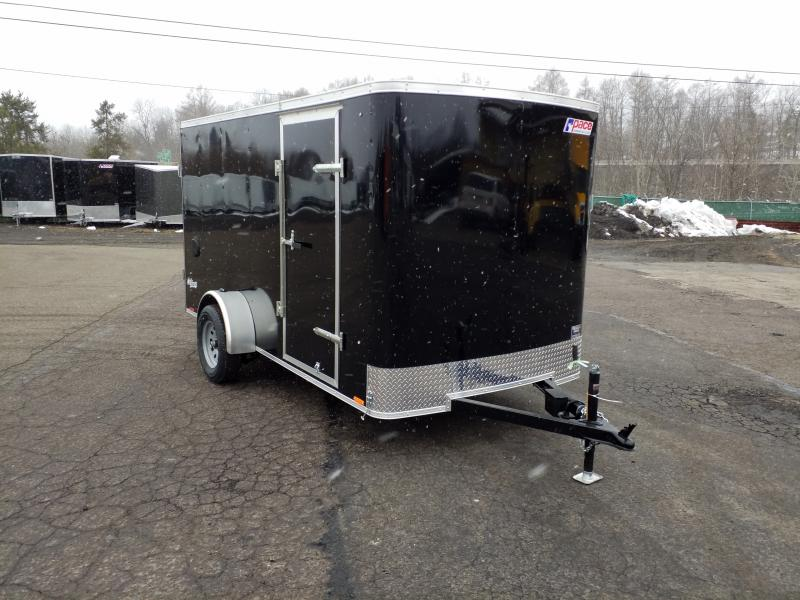 2018 Pace American OB 6X12 ELECTRIC BRAKES - BARNS Enclosed Cargo Trailer