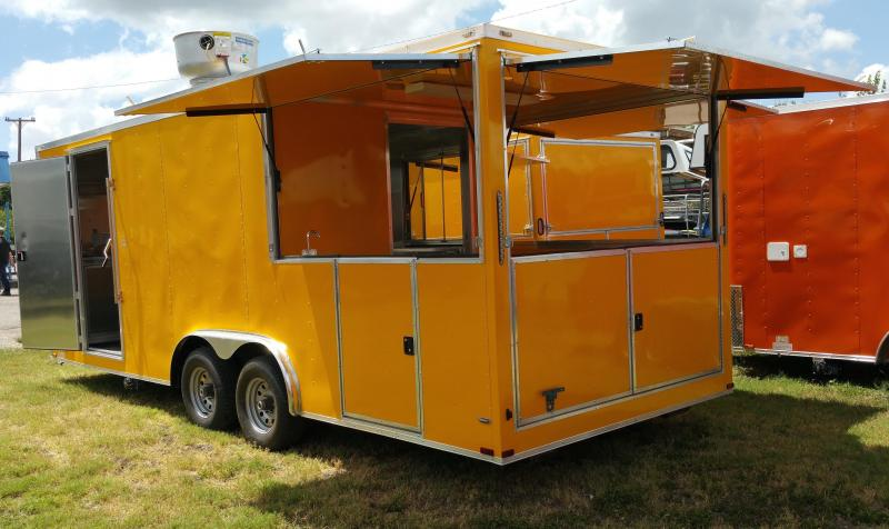 2016 Other (Not Listed) 8.5 x 22 yellow porch Vending / Concession Trailer
