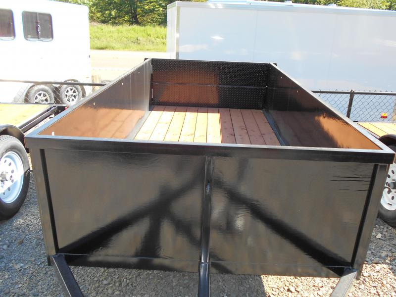 2018 Iron Eagle Voyager 5x10 Utility Trailer with Rear Split Tailgate