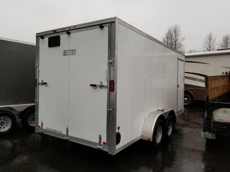 2018 EZ Hauler 7x16 All Aluminum Enclosed Cargo Trailer