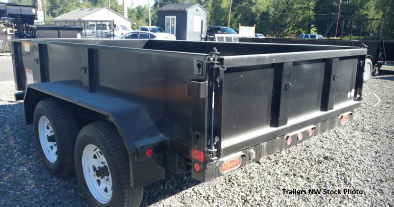 2018 Big Tex 70SR 6x10 7K Dump Trailer with Rear Spreader & Tailgate