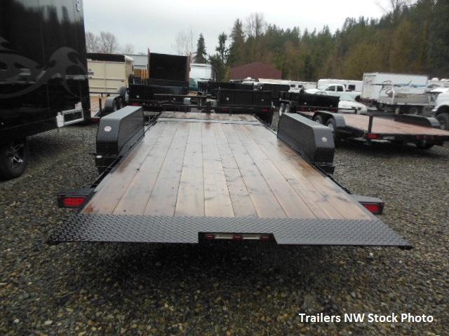 2018 Big Tex 83x20 Heavy Duty Tilt Equipment Flatbed Trailer
