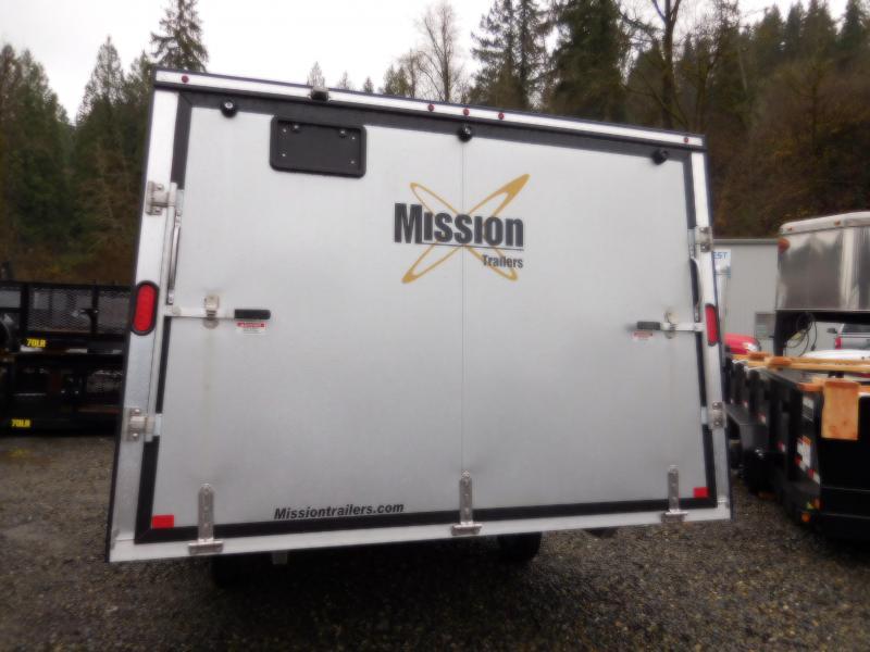 2018 Mission MFS 101x12 Crossover Snowmobile Trailer