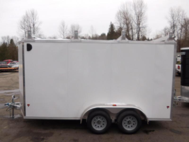 2017 Mission 7x14 Enclosed Trailer with ultimate Contractor Package