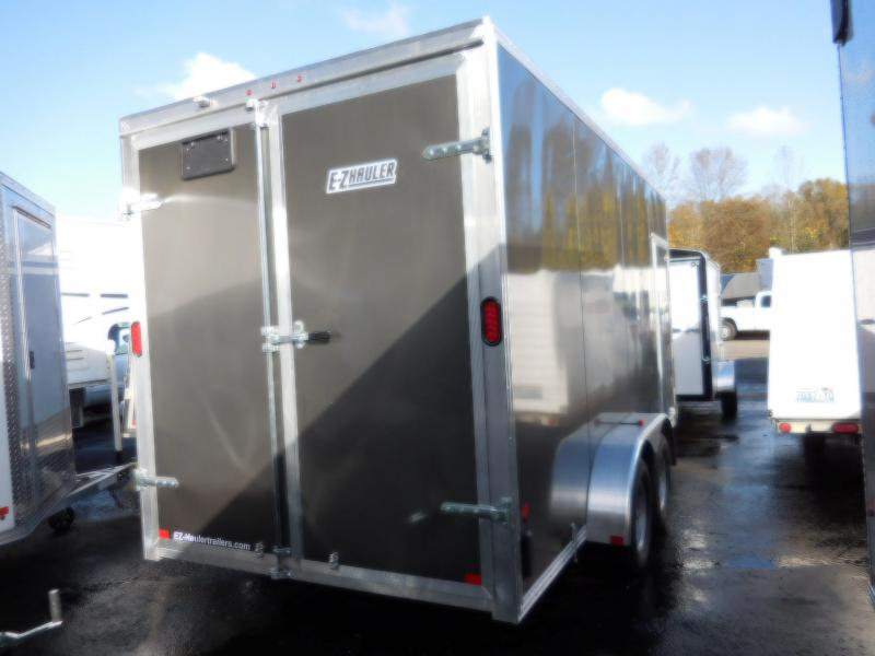 2018 EZ Hauler 7x16 Enclosed Cargo Trailer with Rear Barn Doors