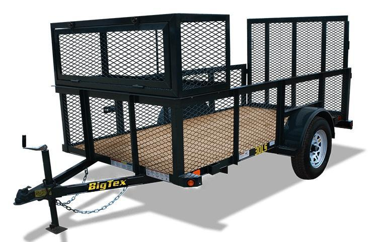 2018 Big Tex 5x10 Utility Landscape Trailer
