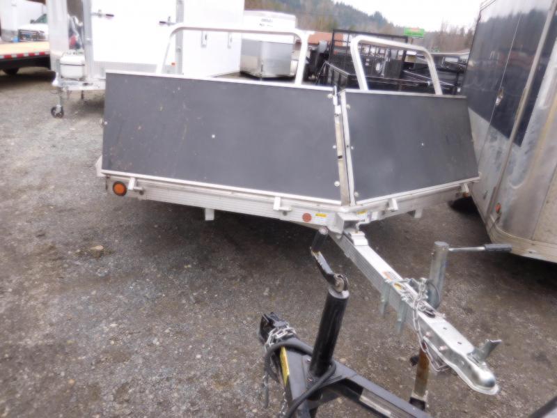 Used 2008 Triton Open Tilt Snowmobile Trailer