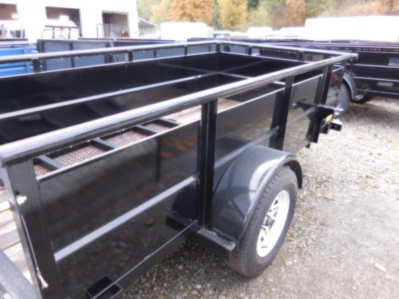 2017 Big Tex 30SV 5x10 Utility Trailer with Rear Landscape Ramp