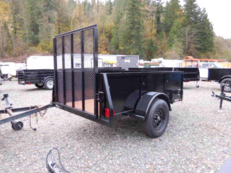 2017 Iron Eagle Voyager 4X8 Utility Trailer with Rear Landscape Ramp