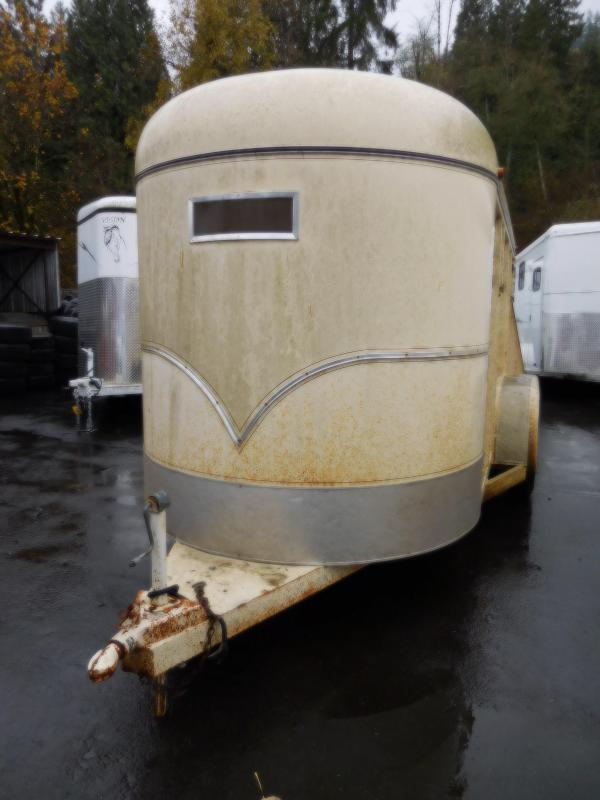 Used 1998 Circle J Stock Horse Trailer