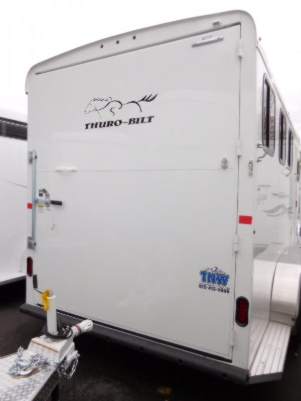 2017 Thuro-Bilt Renegade 3 Horse Trailer