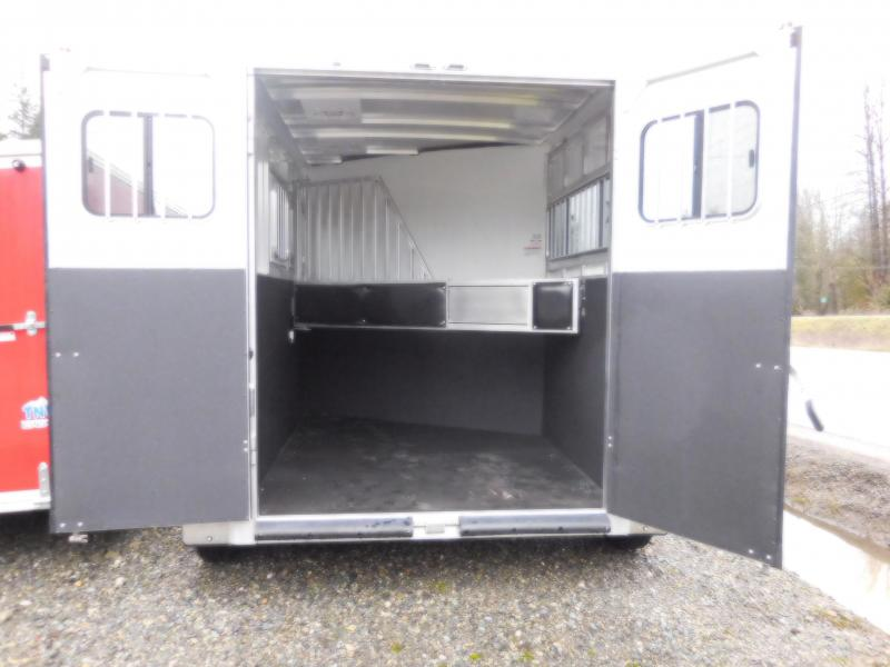 2018 Sundowner 2 Horse Sportman All Aluminum Trailer