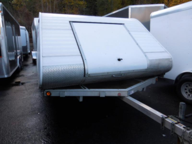 Used 2007 Triton 2 Place Enclosed Snowmobile Trailer