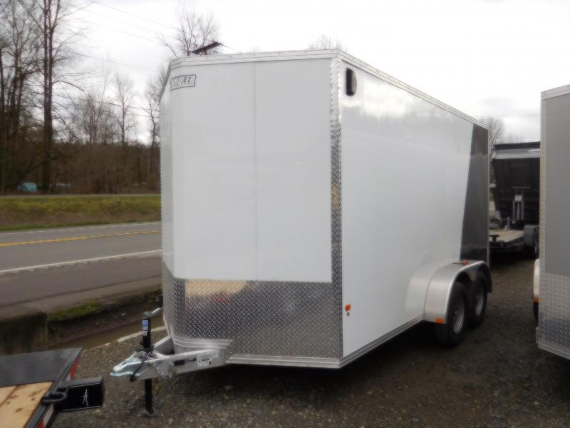 2018 EZ Hauler 7x14 All Aluminum Enclosed Cargo Trailer