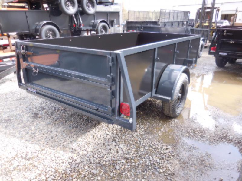 2018 Iron Eagle 5x10 Voyager Series Utility Landscape Trailer with Split Combo Gate