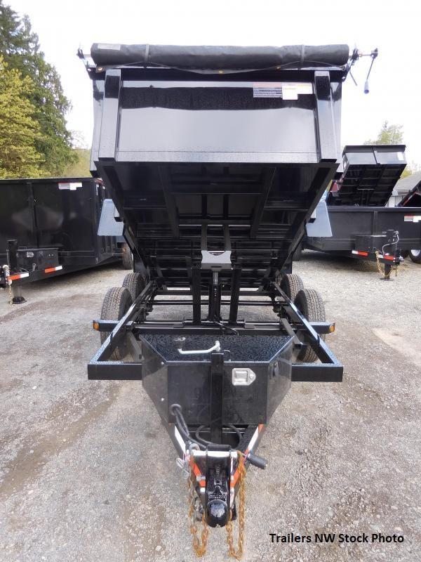 2018 ABU 5x10 Tandem Axle 10K Dump Trailer w/ Double Doors