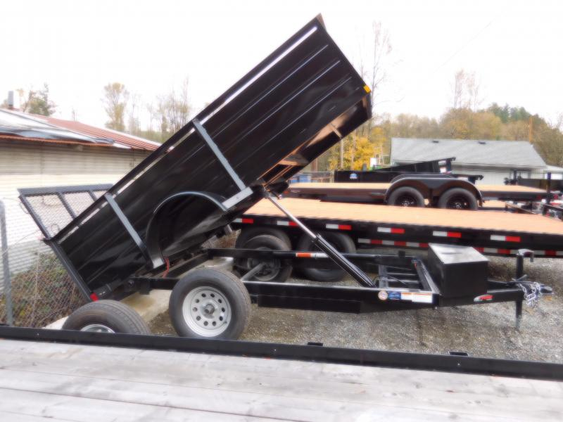2017 Mirage 5x10 Dump Trailer with Spreader & Ramp