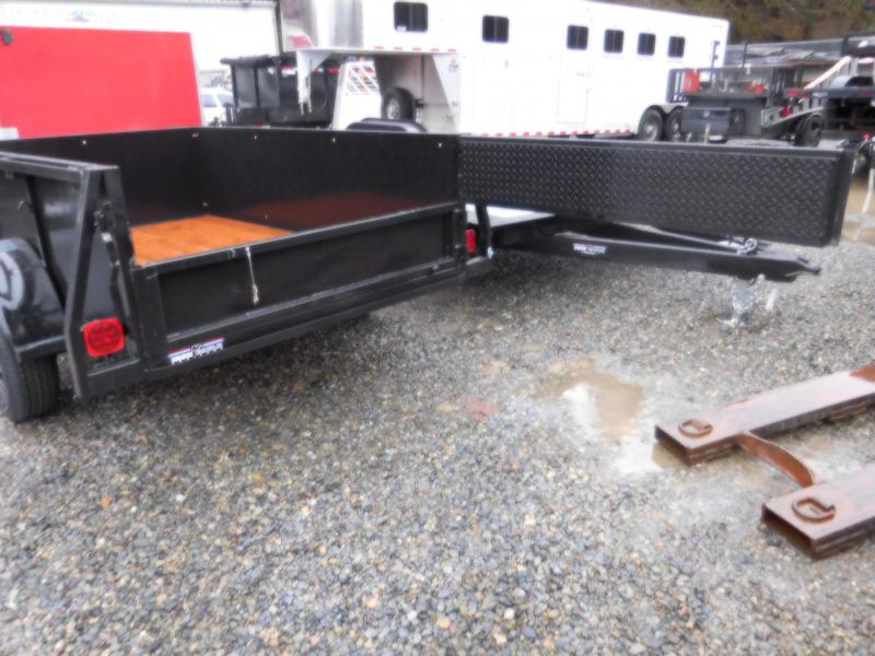 2018 Iron Eagle Voyager Series 5x8 Utility Trailer with Split Gate Combo