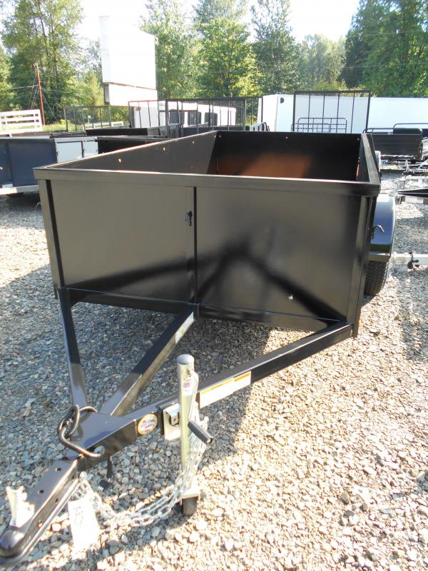 2018 Iron Eagle 5x10 Voyager Series Utility Landscape Trailer