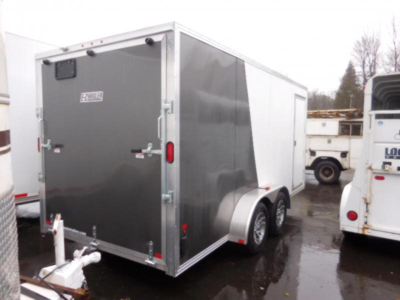 2018 EZ Hauler 7x16 Enclosed Cargo Trailer with Rear Ramp