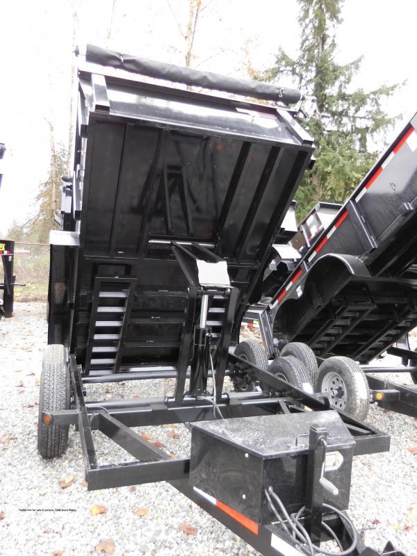 2018 ABU 6x12 Tandem Axle 10K Dump Trailer w/ Double Doors