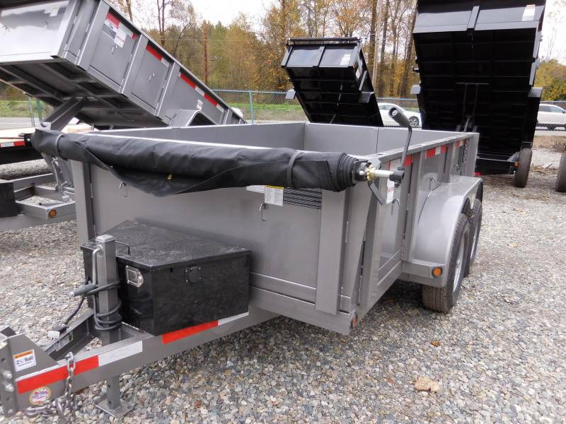 2018 ABU 6x10 Dump Trailer w/ Double Rear Doors