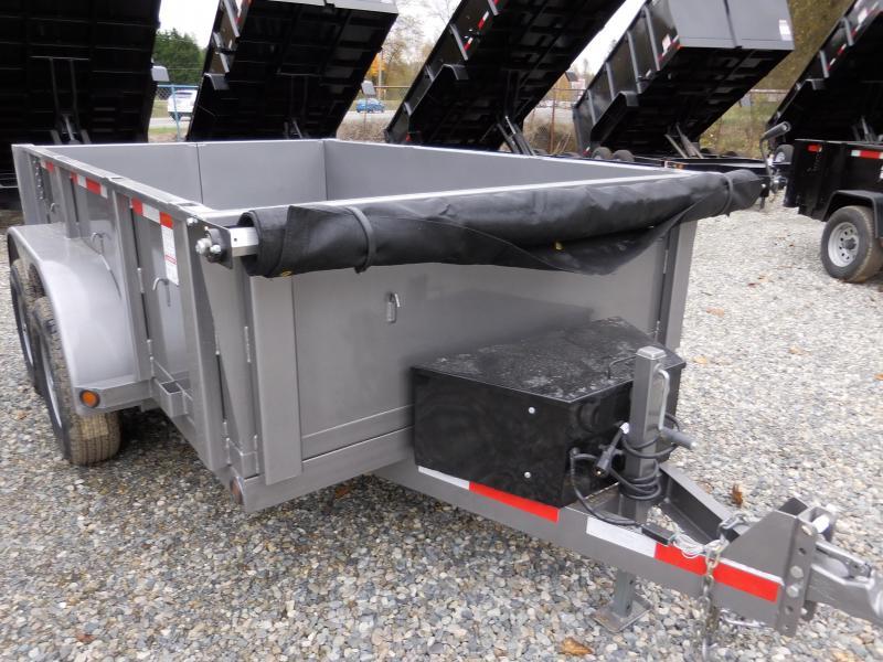 2018 ABU 6x10 Dump Trailer 10K w/ Double Rear Doors