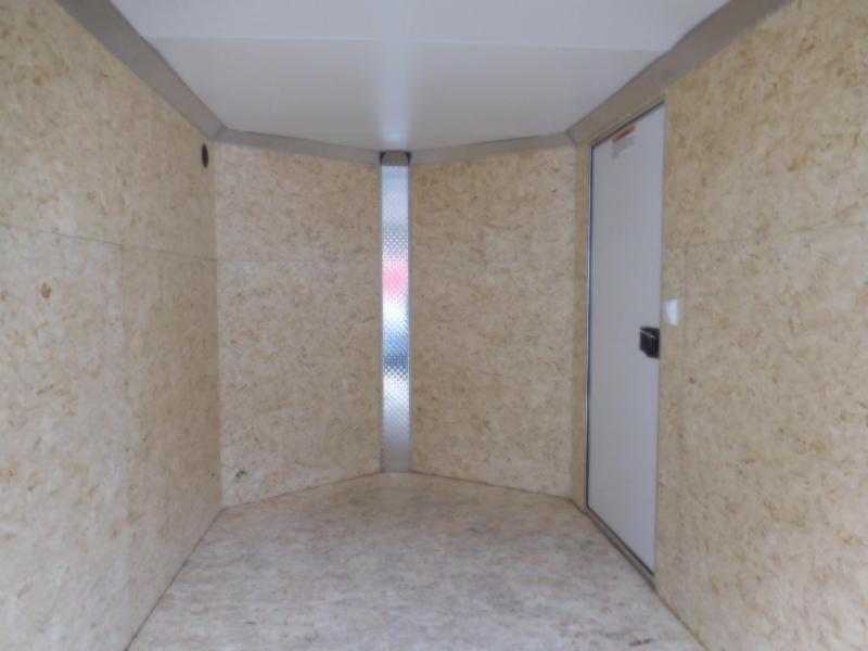 2018 EZ Hauler 6x12 Enclosed Cargo Trailer with Barn Doors