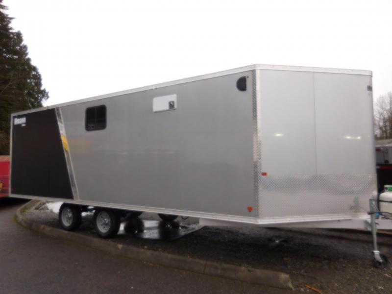2018 Mission 22' Enclosed Snowmobile Trailer