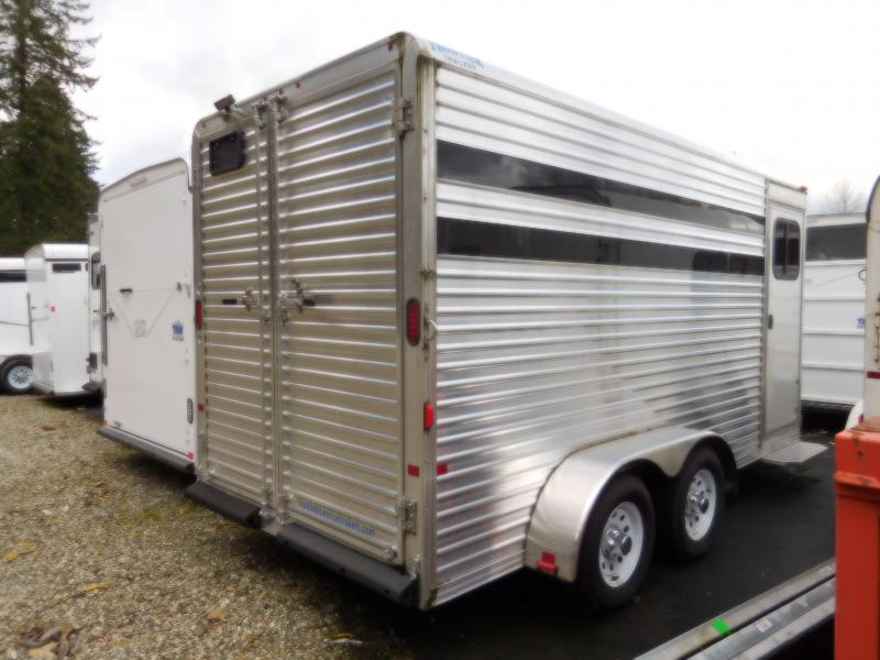 2015 Frontier Colt 3 Horse Slant Load Horse Trailer