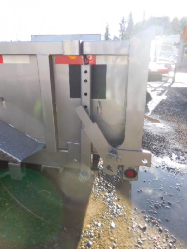 2018 ABU 7x14 14K Industrial Dump Trailer