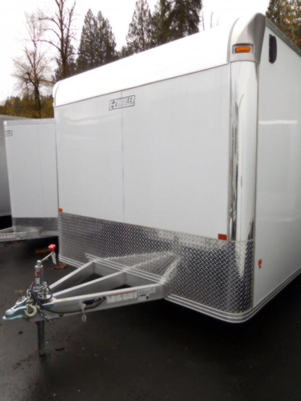2017 EZ Hauler 8x16 Enclosed Car Hauler with Rear Ramp