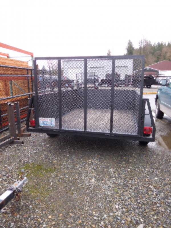Used 2008 Iron Eagle 6x8 Voyager with Rear Landscape Ramp Utility Trailer