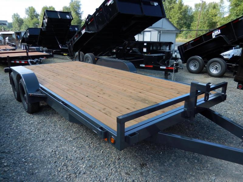 2017 Iron Eagle 7x16 7000# series Flat Bed Trailer