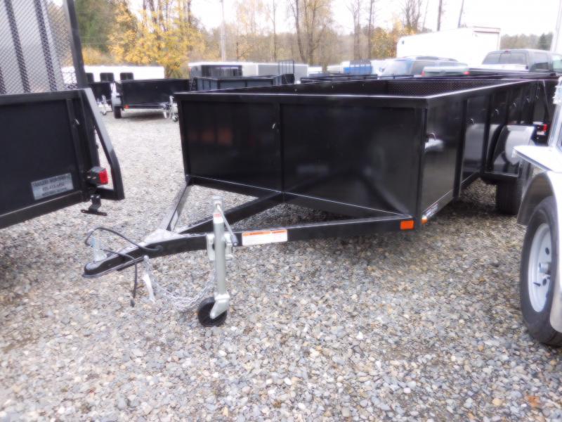 2018 Iron Eagle Voyager 6x12 Split Tailgate Utility Trailer