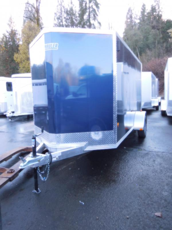 2017 EZ Hauler 6x12 Standard All Aluminum Cargo Trailer with Rear Ramp