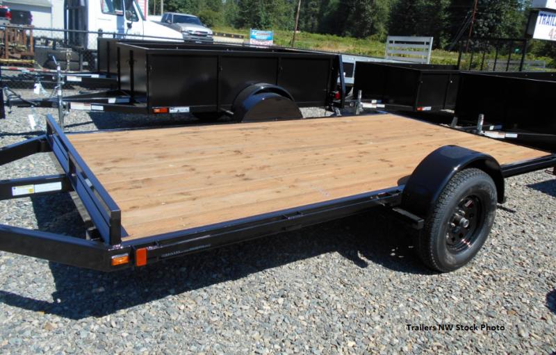 2018 Iron Eagle 6.5x12 ATV Series Flatbed Trailer   Trailers NW ...