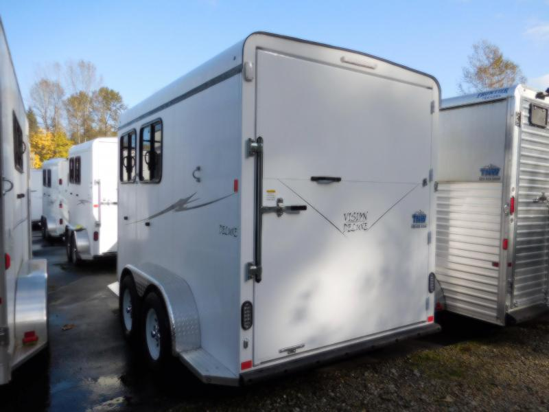 2017 Deluxe Fabform Vision 2 Horse Trailer | Trailers NW Horse ...