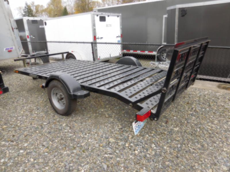 Used 2009 Midwest Industries Inc. Shorelander Flatbed Trailer
