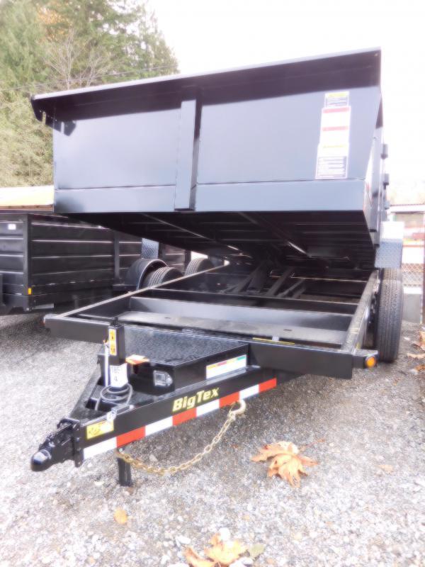 2018 Big Tex 7x14 14LX Dump Trailer with 3-Way Combo Gate