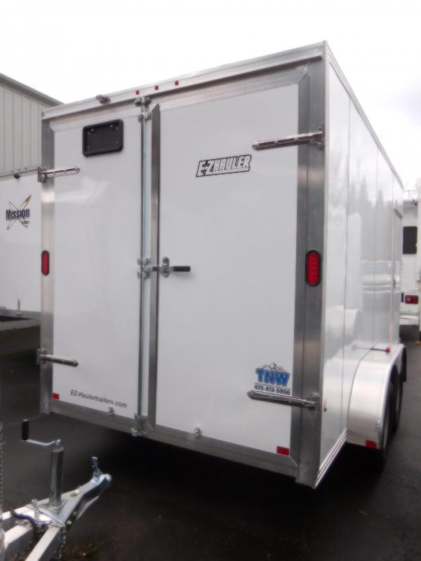 2018 EZ Hauler 7x14 Cargo Trailer with Rear Barn Doors