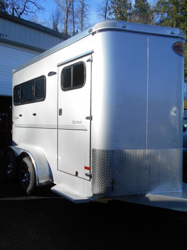 2016 Sundowner 2 Horse Sportman Horse Trailer