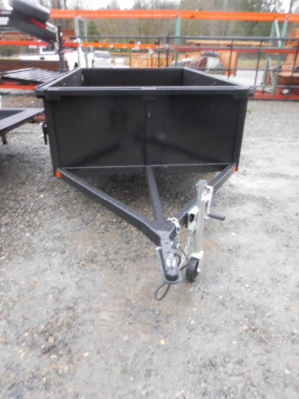 2018 Iron Eagle 5x8 Utility Trailer with Stake Pockets & Rear Split Gate