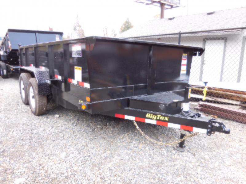 2018 Big Tex 14LX-14 Dump Trailer with 3-Way Combo Gate