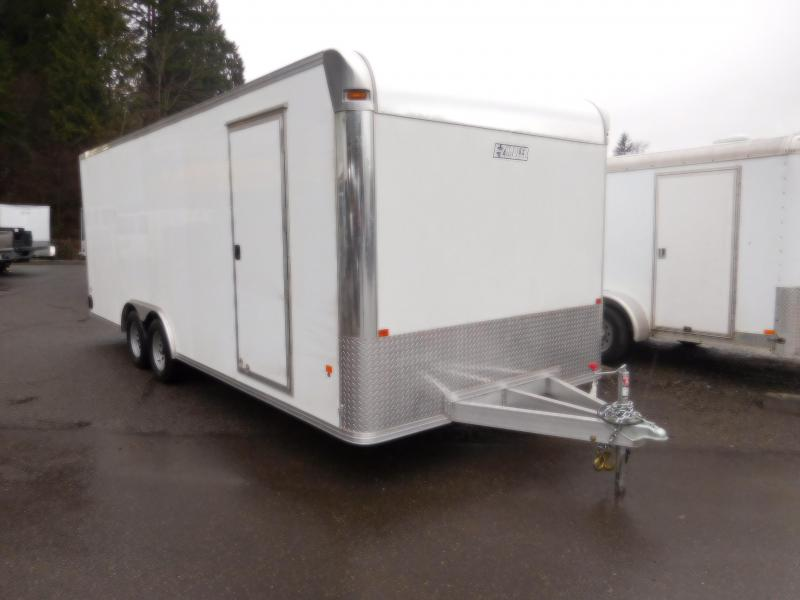 2018 EZ Hauler 8x22 All Aluminum Enclosed Cargo Car Hauler Trailer